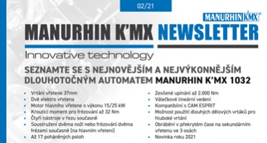 MANURHIN K'MX NEWSLETTER 02/21 foto