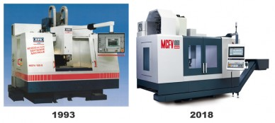 We are manufacturing vertical machining centres for 25 years foto
